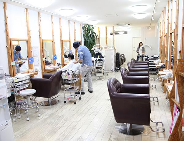 美容・健康・エステ・ARCH HAIR DESIGN・内観