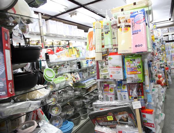 ショッピング・稲毛屋金物店・内観