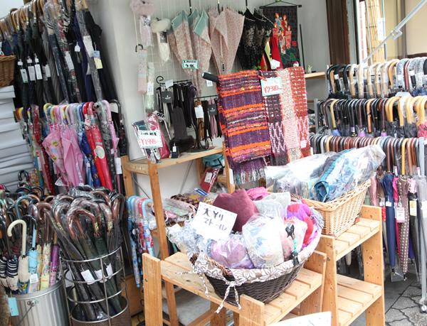 ショッピング・タナカヤ洋傘店・内観