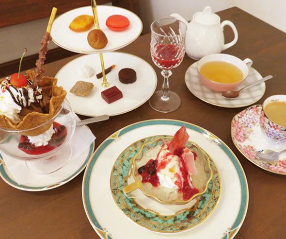 グルメ・café de patisserie CHACORI・内観