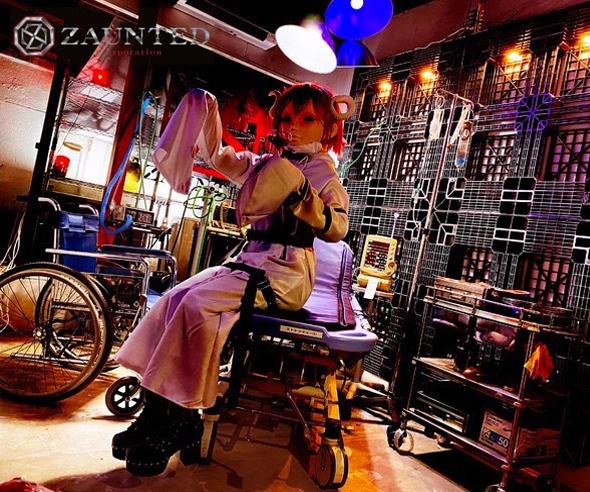 グルメ・HORROR CULTURE CAFE『ZAUNTED MANSION』・内観